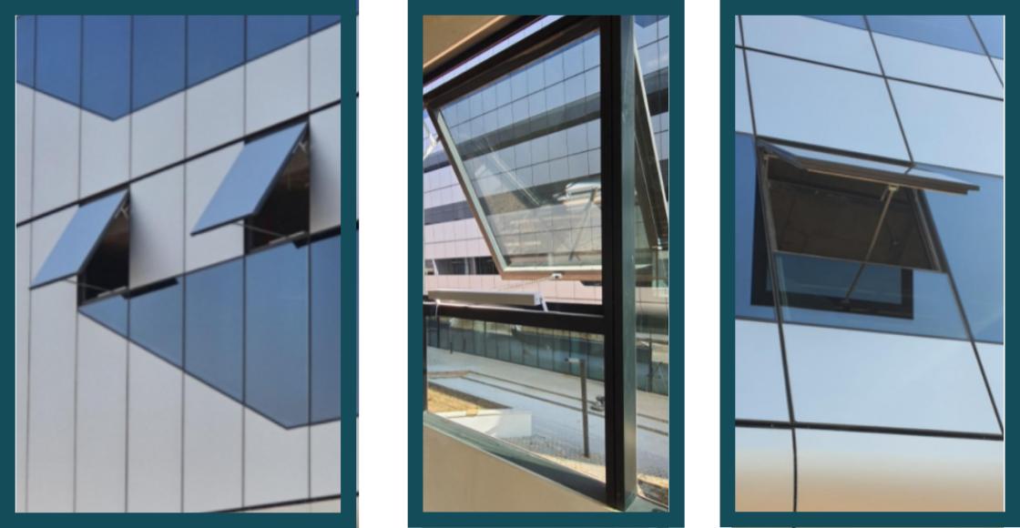 ACSA Precinct Development - Window Actuators for Natural and Smoke Ventilation